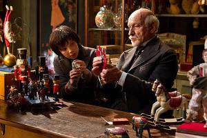 Asa Butterfield and Sir Ben Kingsley in 'Hugo'.