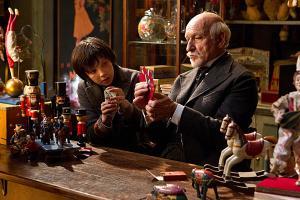Asa Butterfield and Sir Ben Kingsley in 'Hugo'.