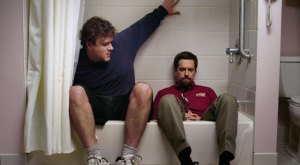 Jason Segel and Ed Helms in 'Jeff, Who Lives at Home'
