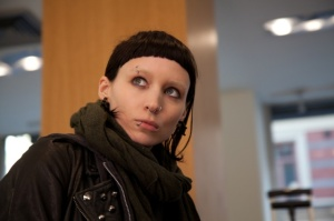 Rooney Mara as Lisbeth Salander in 'The Girl with the Dragon Tattoo'