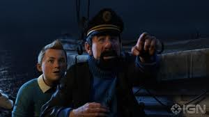 Jamie Bell and Andy Serkis voice our heroes in 'The Adventures of Tintin'.