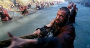 Hugh Jackman as Jean Valjean.