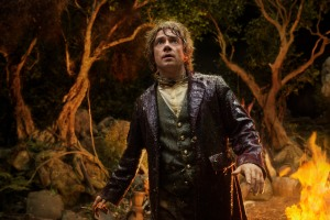 "Martin Freeman as Bilbo Baggins in ""The Hobbit: An Unexpected Journey'."
