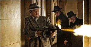 Sean Penn goes ballistic as Mickey Cohen.