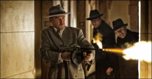 Sean Penn goes ballistic as Mickey Cohen.