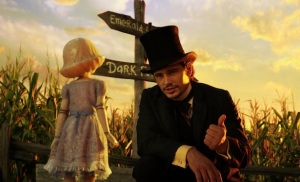 James Franco plays a man in need of a direction in 'Oz theGreat and Powerful'.