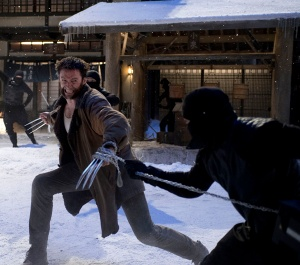 Hugh Jackman returns -- and fights ninjas! -- as 'The Wolverine'.