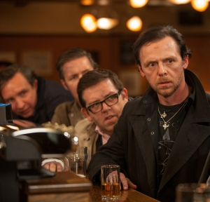 Nick Frost (left) and Simon Pegg (right) in 'The World's End'.