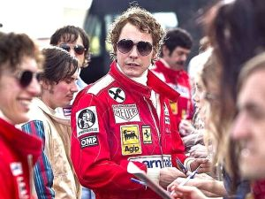 Daniel Bruhl as Niki Lauda.