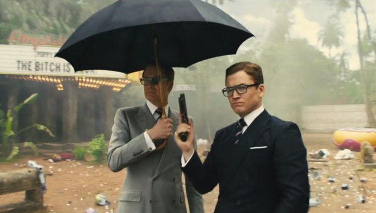 Kingsman Golden Circle a