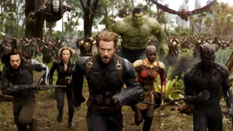 Avengers Infinity War a