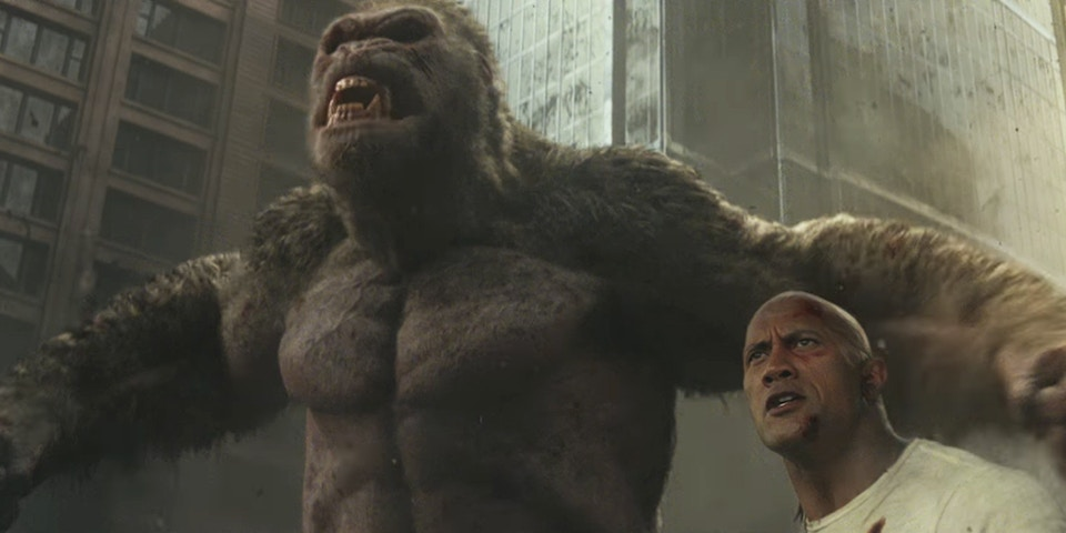 Movie Review Rampage Lake Highlands